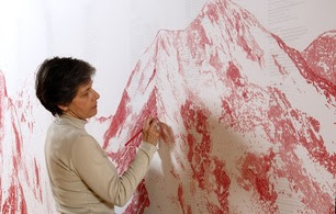 Visita à exposição Dar corpo ao vazio, de Cristina Ataíde newsjan