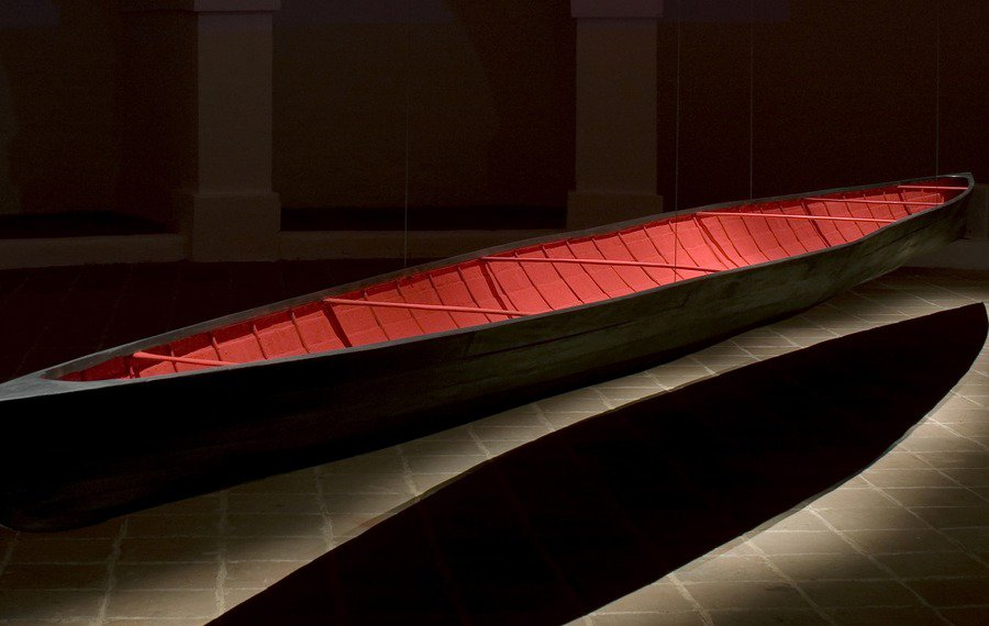 Visita à exposição Seja dia ou seja noite pouco importa, de André Gomes e Pedro Calapez