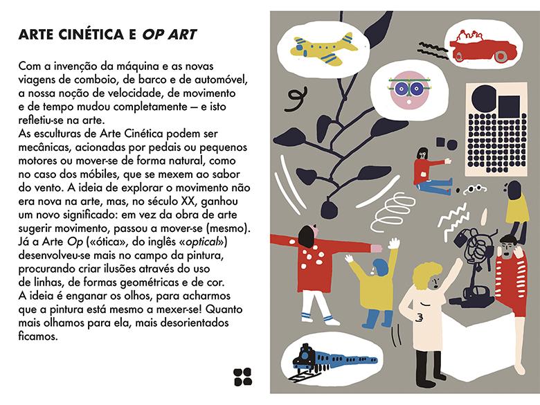 Uma Viagem Pela Arte Moderna - Semana 9: Arte Cinética e Opt Art   | #MCB_OnlineKids
