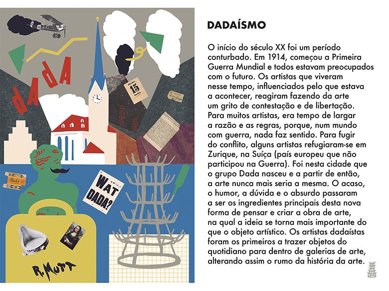 Uma Viagem Pela Arte Moderna - Semana 2: Dadaísmo  | #MCB_OnlineKids