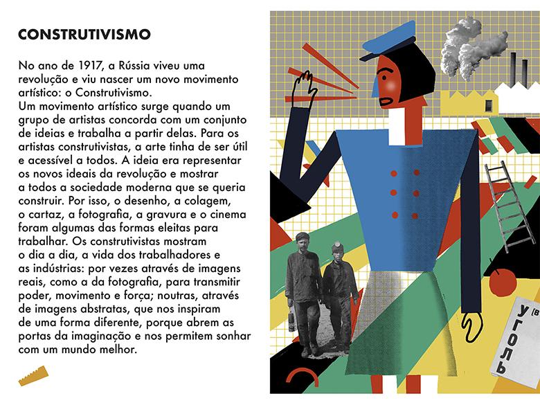 Uma Viagem Pela Arte Moderna - Semana 2: Construtivismo  | #MCB_OnlineKids