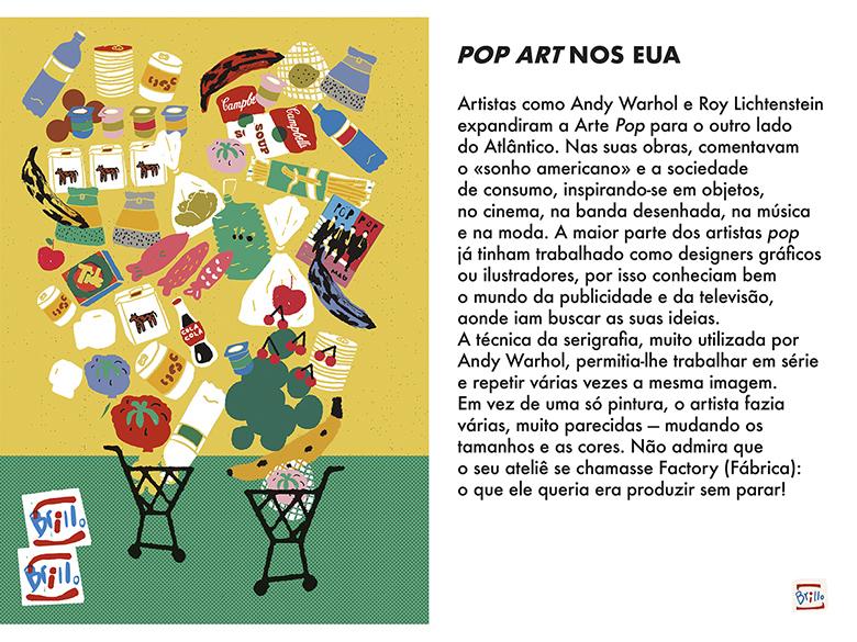 Uma Viagem Pela Arte Moderna - Semana 11: Pop Art nos EUA  | #MCB_OnlineKids