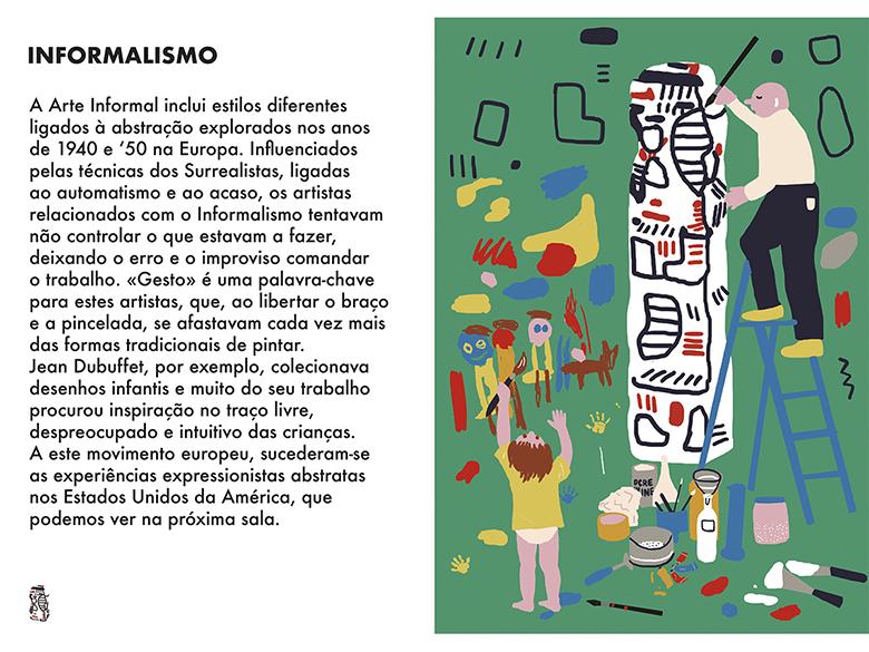 Uma Viagem Pela Arte Moderna - Semana 7: Informalismo  | #MCB_OnlineKids
