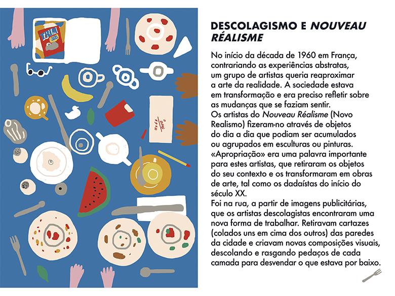Uma Viagem Pela Arte Moderna - Semana 10: Descolagismo e Nouveau Réalisme  | #MCB_OnlineKids
