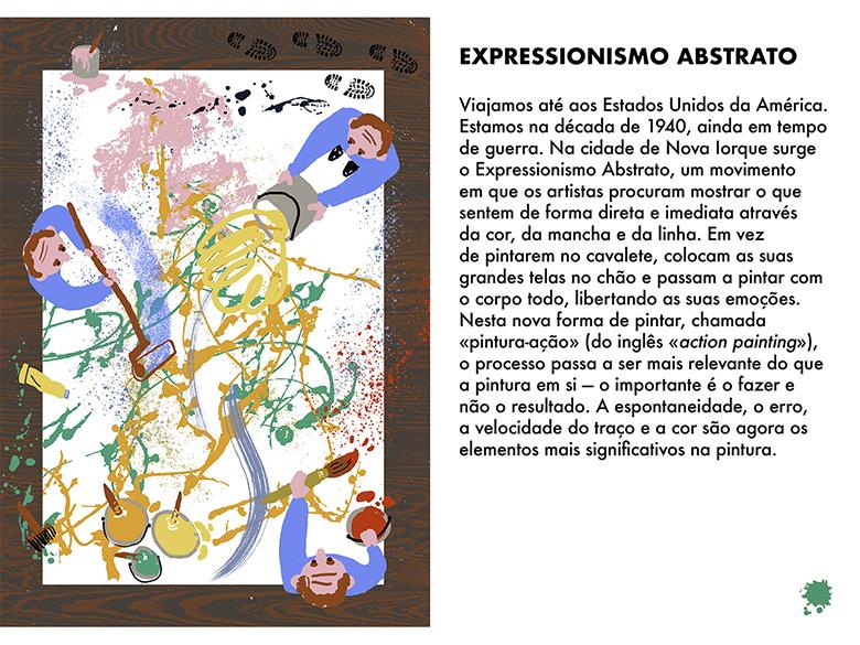 Uma Viagem Pela Arte Moderna - Semana 8: Expressionismo Abstrato  | #MCB_OnlineKids