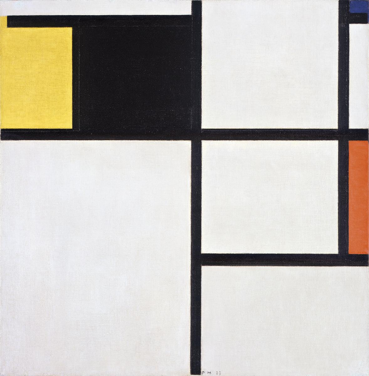 tableau amarelo preto azul vermelho e cinzento museu berardo. Black Bedroom Furniture Sets. Home Design Ideas
