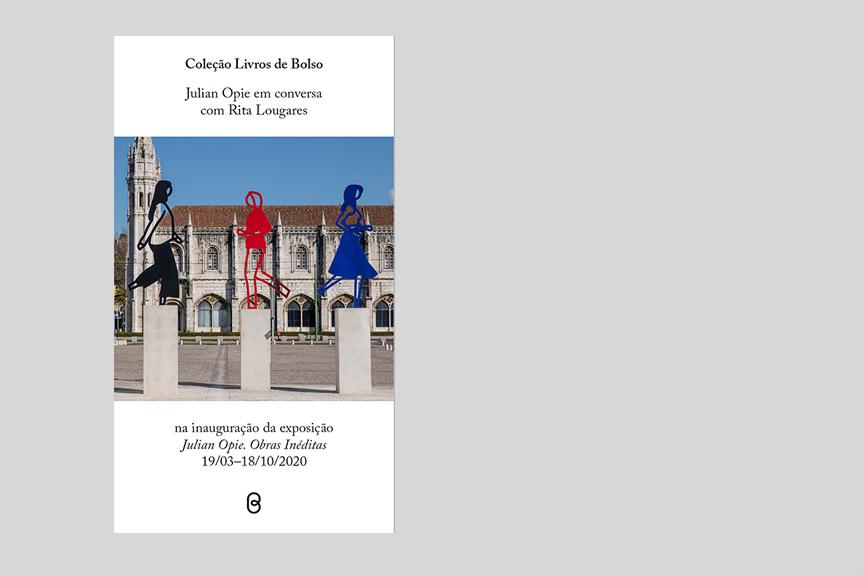 Coleção Livros de Bolso – Julian Opie em conversa com Rita Lougares na inauguração da exposição «Julian Opie. Obras Inéditas»
