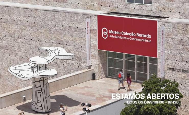 Museu Berardo - Estamos Abertos   Museu de Arte Moderna e Contemporânea Aberto em Lisboa