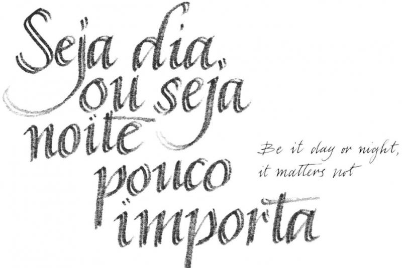 Inauguração a 16 de junho: André Gomes e Pedro Calapez  Seja dia ou seja noite pouco importa  No dia 16, a entrada no Museu será gratuita entre as 15h00 e as 19h00.