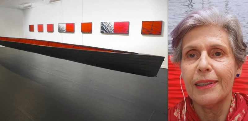Visita à exposição Dar corpo ao vazio, de Cristina Ataíde