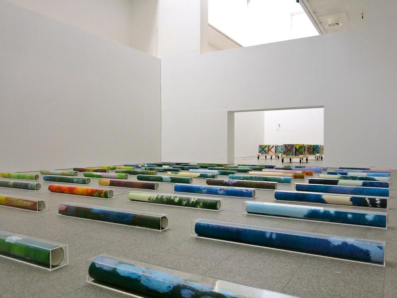 Pires Vieira. Trash – Lixo de Artista, vista da exposição / exhibition view | Museu Coleção Berardo, Lisboa