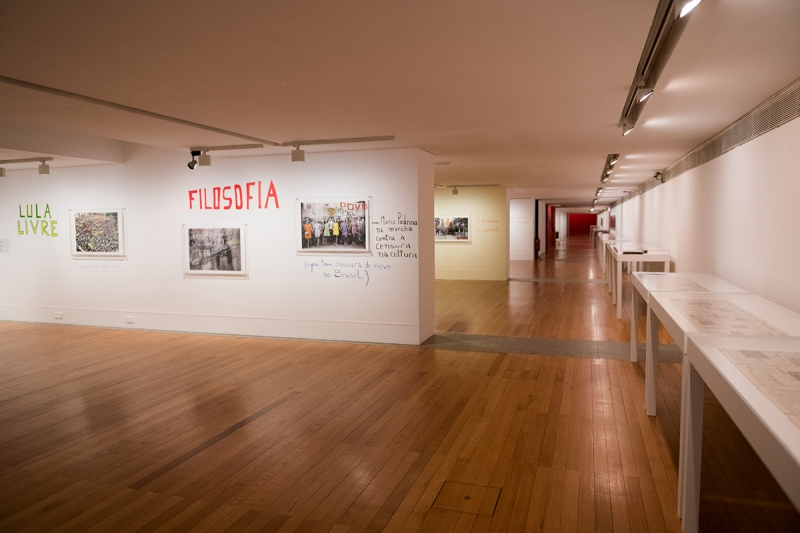 """1968: O Fogo da Ideias / The Fire of Ideas"", Marcelo Brodsky - vista da exposição / view of the exhibiton"