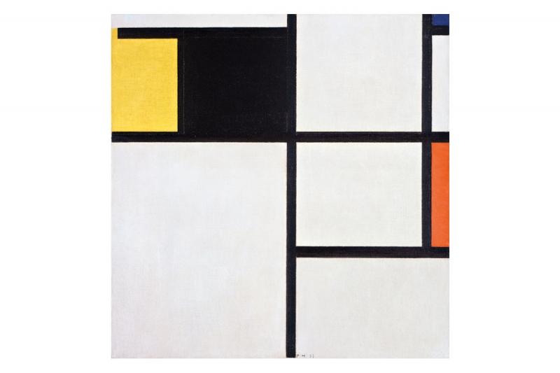 Linha, Forma e Cor — Obras da Coleção Berardo / Mondrian