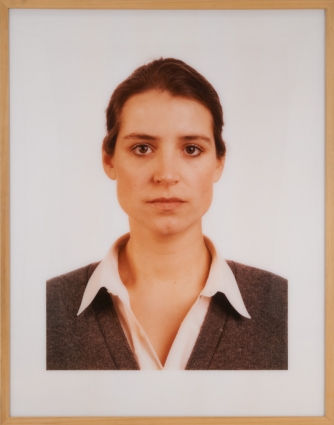 Thomas Ruff, Carol Pillar, 1989