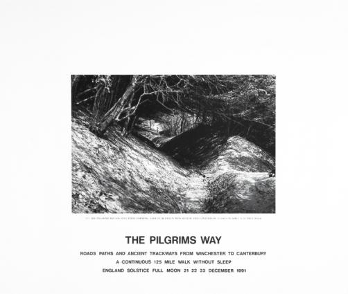 Hamish Fulton, The Pilgrims Way, 1991