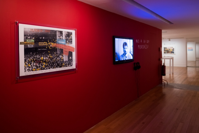 """1968: O Fogo da Ideias / The Fire of Ideas"", Marcelo Brodsky - vista da exposição / view of the exhibition"