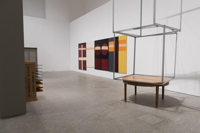 Linha, Forma e Cor — Obras da Coleção Berardo, vista da exposição
