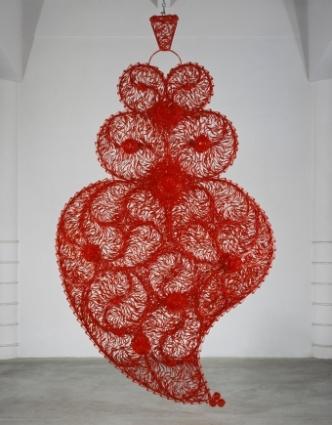 Joana Vasconcelos, Coração independente vermelho, 2016
