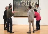 Atividade Videografias no Museu Coleção Berardo, na exposição Interregnum de Stan Douglas
