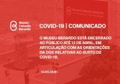 COVID19 - Museu Berardo encerrado até 13 de abril