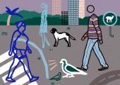 Julian Opie – Toca a andar, atividades para famílias em casa, 2º ciclo   #MCB_OnlineKids