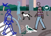 Julian Opie – Toca a andar, atividades para famílias em casa, 2º ciclo | #MCB_OnlineKids