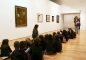 A primeira vez num museu de arte moderna
