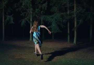 Sharon Lockhart,When You're Free, You Run in the Dark, Buła(detail), 2016,framed chromogenic print,122 x 155 cm