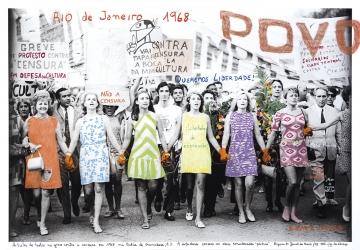 1968 O Fogo das Ideias. Marcelo Brodsky - Rio de Janeiro