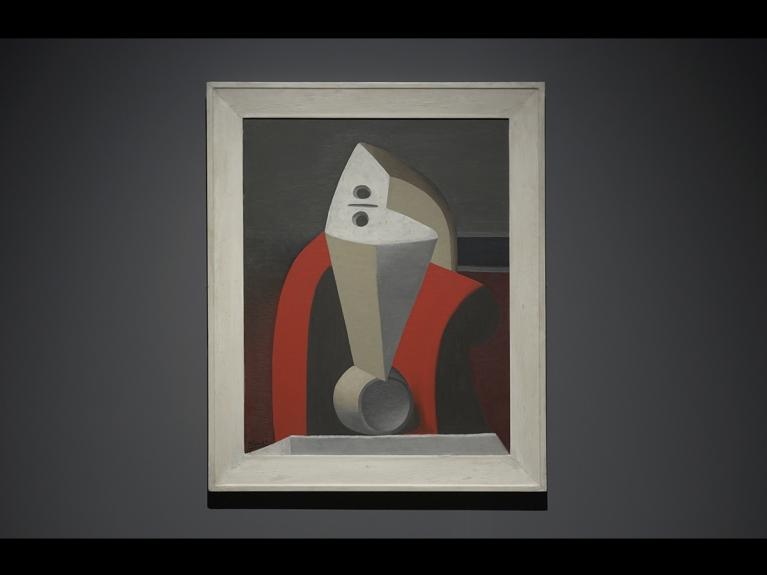 """Frame da visita com atividade """"Um olhar pela arte moderna: Introdução à arte moderna e movimento cubista"""" dirigida ao 2.º ciclo do programa ENVOLVER Online"""
