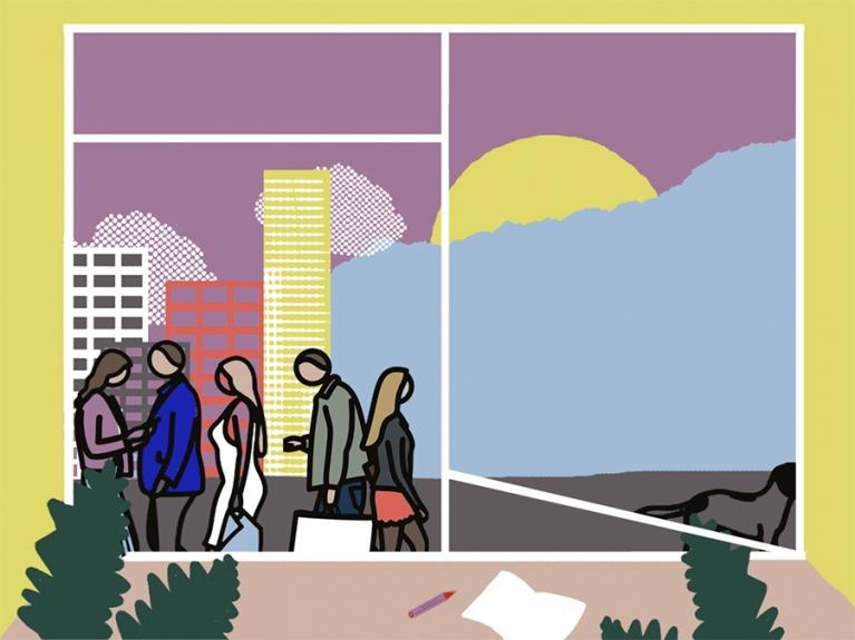 Julian Opie – Dentro de Casa, atividades para famílias, 1º ciclo | #MCB_OnlineKids