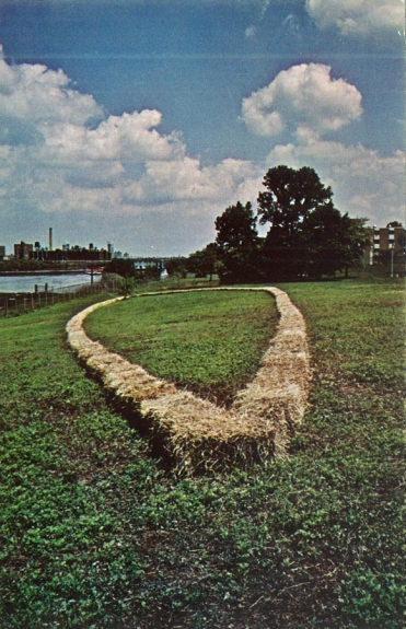 Carl Andre, ANGELLIPSE, 1979