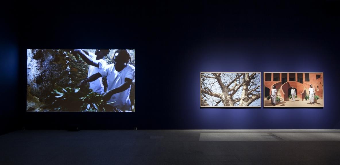 Ayrson Heráclito, O Sacudimento da Maison des Esclaves em Gorée, 2015