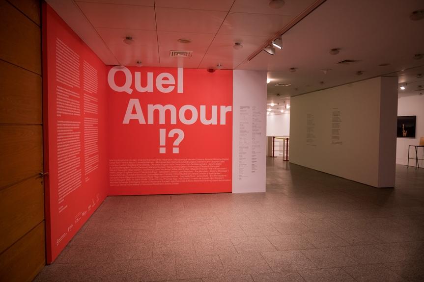 Quel Amour!? - vista da exposição