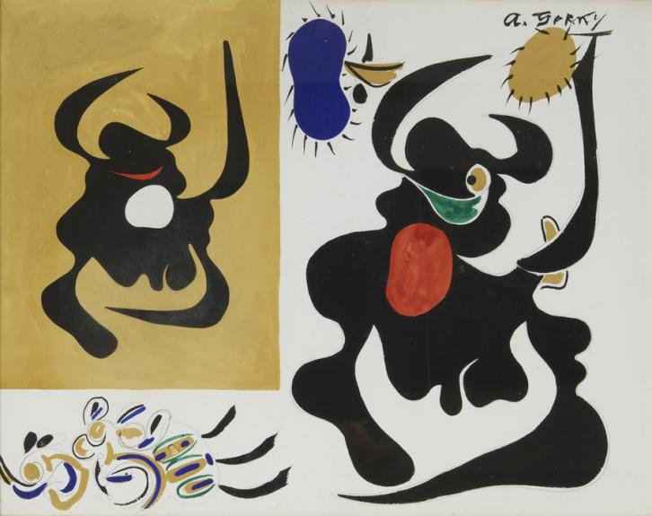 Percurso online pela Coleção Berardo: Expressionismo Abstrato - Jackson Pollock, Arshile Gorky e Lee Krasner