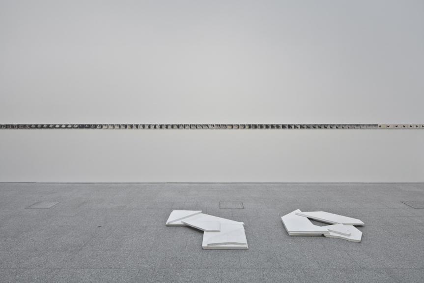 Vista da exposição O Narrador Relutante / View of the exhibition The Reluctant Narrator. Museu Coleção Berardo, 2014.