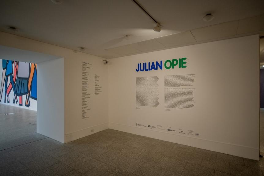 Julian Opie. Obras Inéditas / New Works