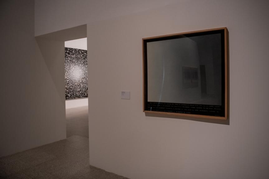 Exposição Matéria Luminal / Exhibition Luminous Matter, Museu Coleção Berardo Foto/ Photo: Rita Carmo, vista da exposição / view of the exhibition