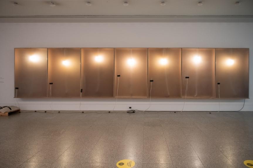 Cabrita, H. Suite VI, 1992 Exposição Matéria Luminal / Exhibition Luminous Matter, Museu Coleção Berardo Foto/ Photo: Rita Carmo, vista da exposição / view of the exhibition