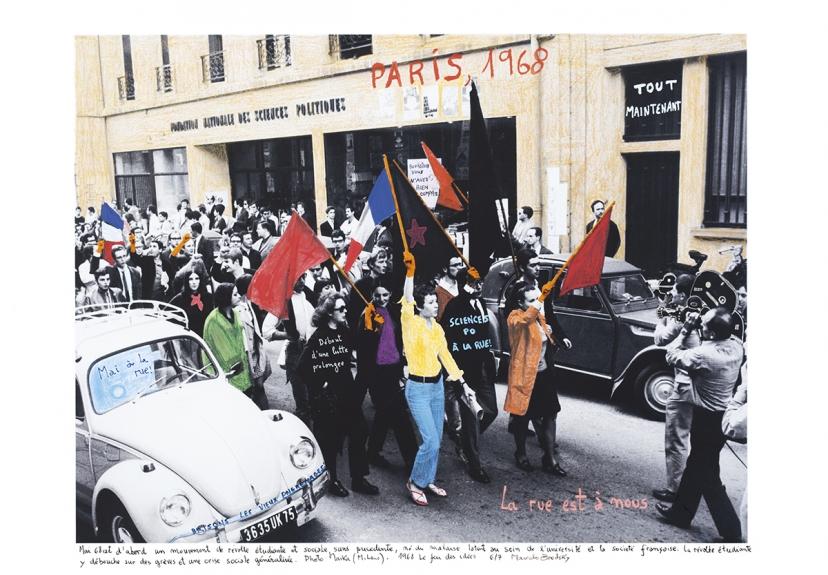 1968 O Fogo das Ideias. Marcelo Brodsky - Paris