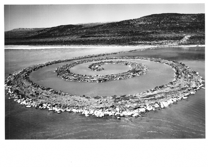 Robert Smithson, Spiral Jetty, 1970.