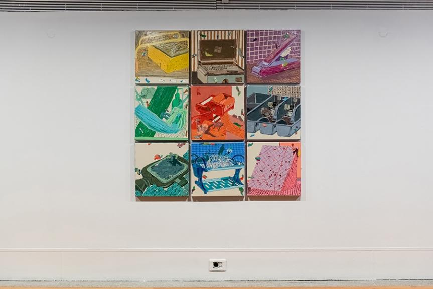 Prémio A Arte Chegou ao Colombo   Nicoleta Sandulescu, «Em casa!»   Museu Coleção Berardo