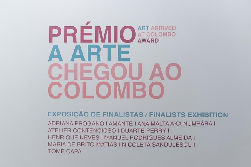 Prémio A Arte Chegou ao Colombo   artistas